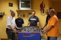 Spende eines Tischfußballspieles an die Feuerwehr