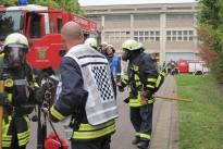 Alarmübung Kraftwerk Bexbach