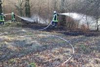 Flächenbrand, in Nähe der L117