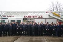 Die Höcher Feuerwehr zu Besuch auf dem Flughafen Ramstein