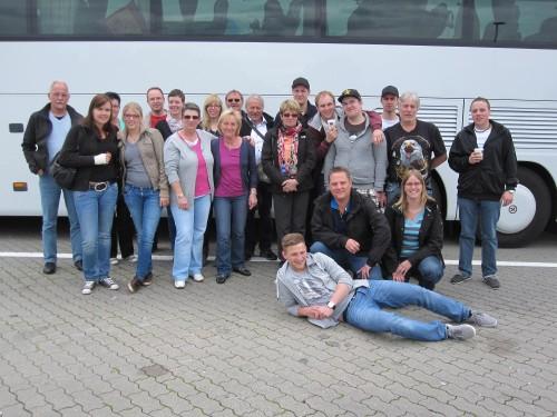 Die Teilnehmer der Berlinfahrt