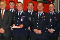 Silbernes Feuerwehr-Ehrenkreuz für Peter Nashan