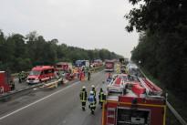 Gefahrguttransporterunfall A6