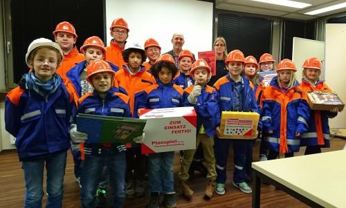 Spendenübergabe im Kraftwerk Bexbach