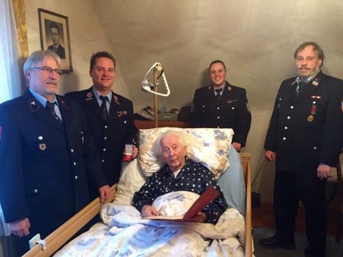 Rüdiger Schramm seit 70 Jahren Mitglied der Feuerwehr