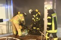 Übung mit der Feuerwehr Waldmohr
