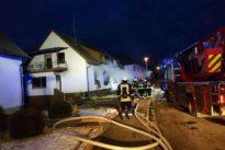 Wohnhausbrand in Oberbexbach