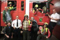 Feuerwehr Höchen unterstützte Filmteam