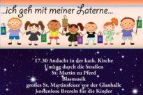 Sankt Martins Umzug 2017