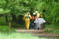 Gefahrguteinsatz nach illegaler Müllentsorgung