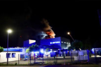 Lagerhallenbrand in Bexbach
