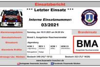 """Einsatz Nr. 03/2021 – """"Brand 3"""""""