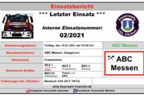 """Einsatz Nr. 02/2021 """"ABC Messen"""""""